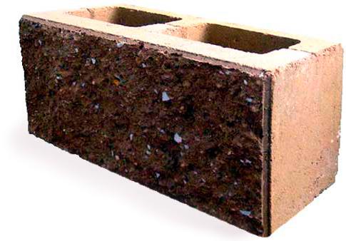 блоки из керамзитобетона с облицовкой